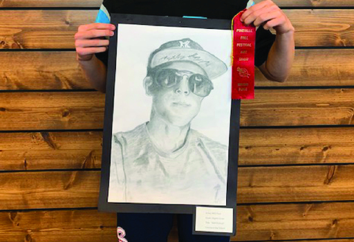 Students Receive Art Awards