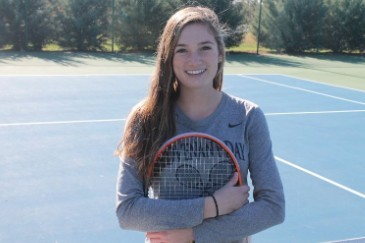 Anna Daniels is MMHW Girls Tennis Player of the Year